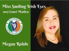 Flier with Miss Smiling Irish Eyes