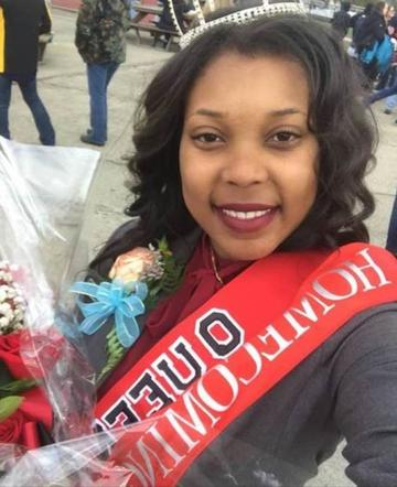 Lakijai Bynum, Cal U homecoming queen