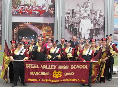 Steel Valley band official picture