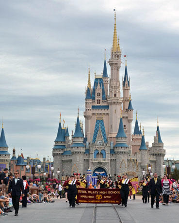 Another photo of the Magic Kingdom castle