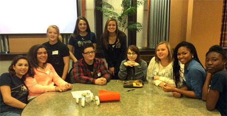 Ladies From HS Attended Engineering Day at the University of Pittsburgh