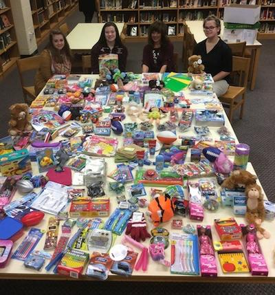 School's Student Council and Students Against Destructive Decisions (SADD) Help Needy Children