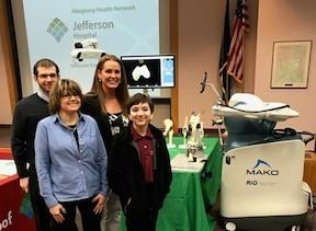 "Jefferson Hospital's ""Name the Robot Challenge"""