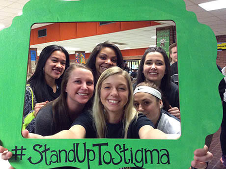 "TFIM Stand Together Group Participated in ""Stop the Stigma"" Week - Photo 2"