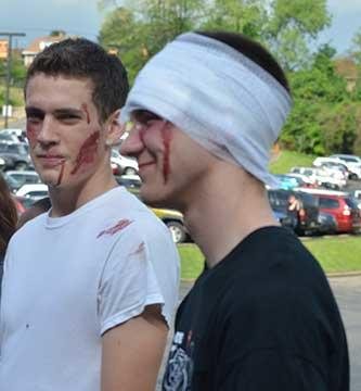 SADD Mock Crash 2015 - Photo 37