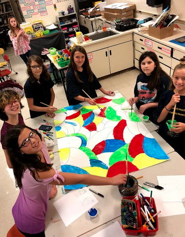 Mrs. Czerwinski's Middle School Art Club