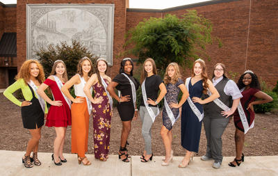 Steel Valley Homecoming Court