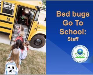 Children bringing bed bugs to school on a bus