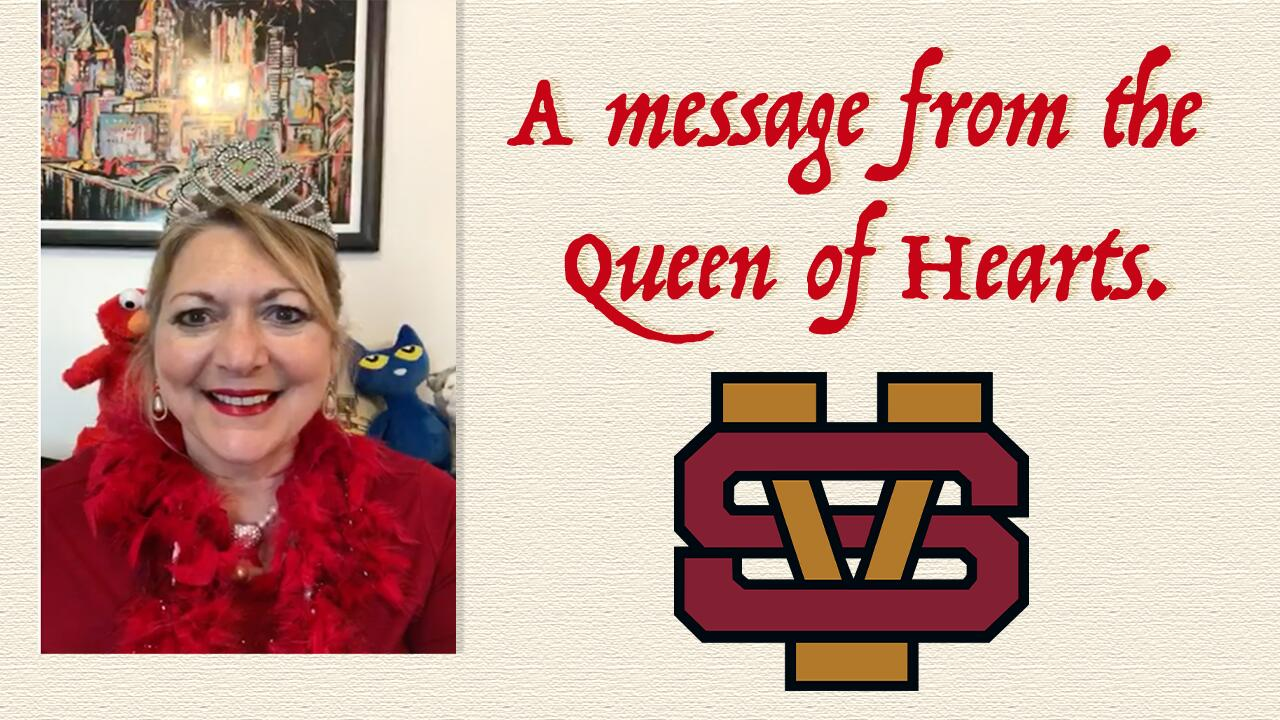 A Message from the Queen of Hearts