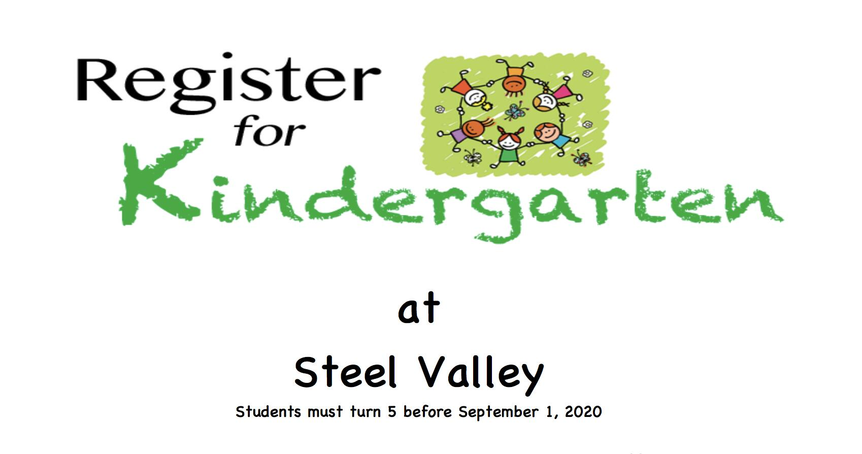 Registration for Kindergarten