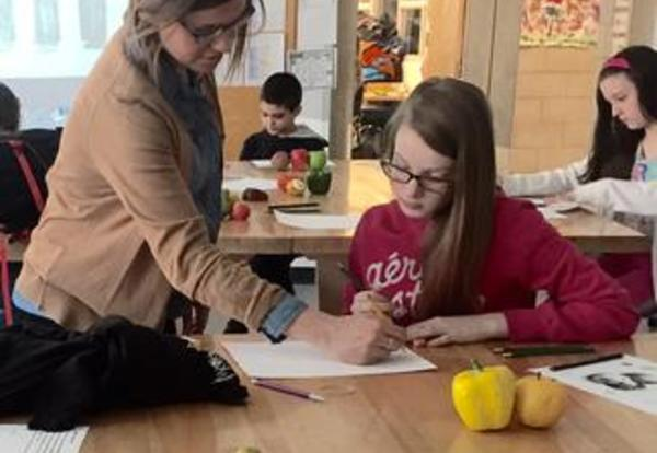 SPEA Nominates LMS Art Teacher Kacie Razo for Illinois Teacher of the Year
