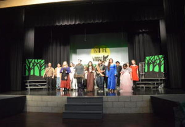 Congratulations to the Cast and Crew of LMS's Into the Woods
