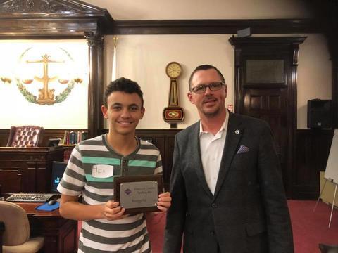 2018 Hancock County Spelling Bee Runner Up
