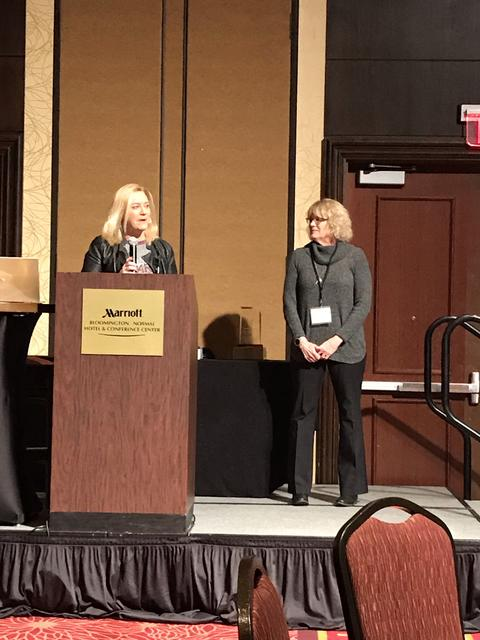 Joy Pollock receives ICEARY 2019 Excellence in Education Award