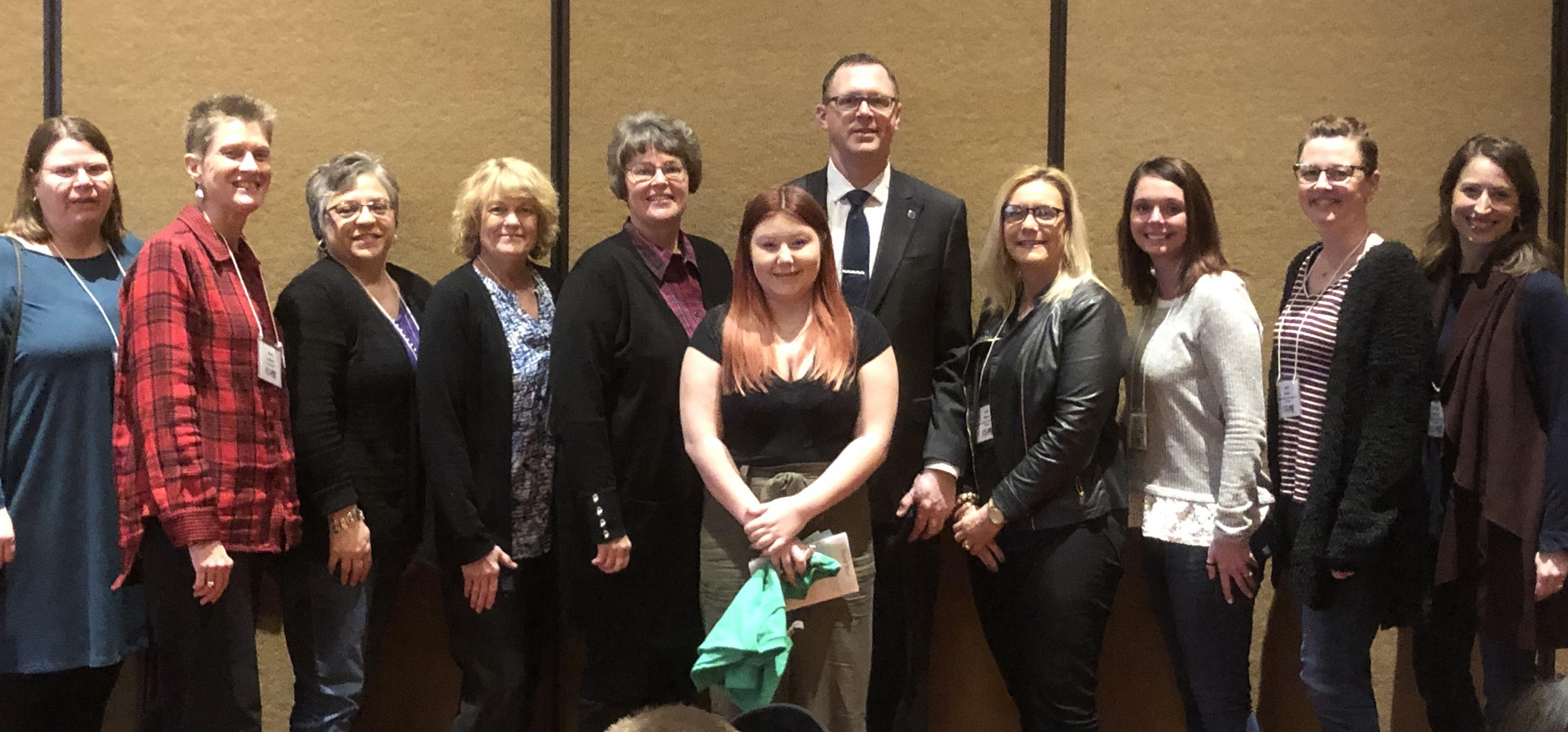 ROYALS student is honored at ICEARY Conference