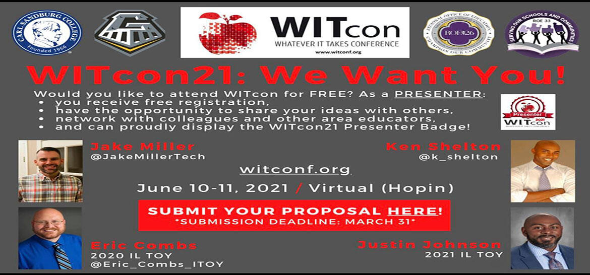 Seeking Presenters for WITCon 2021