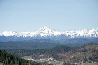 View of the Kittitas Valley looking toward Mt. Stuart.