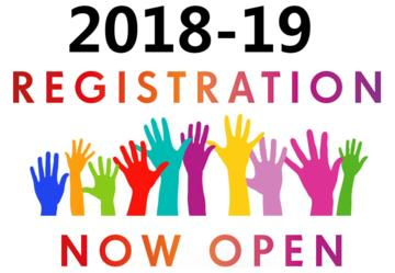 2018-19 Registration Now Open