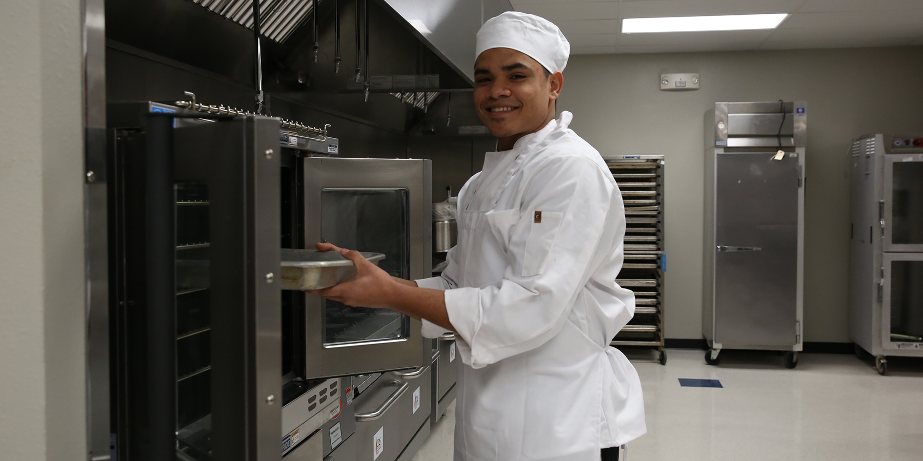 Baking at ICC Culinary Department