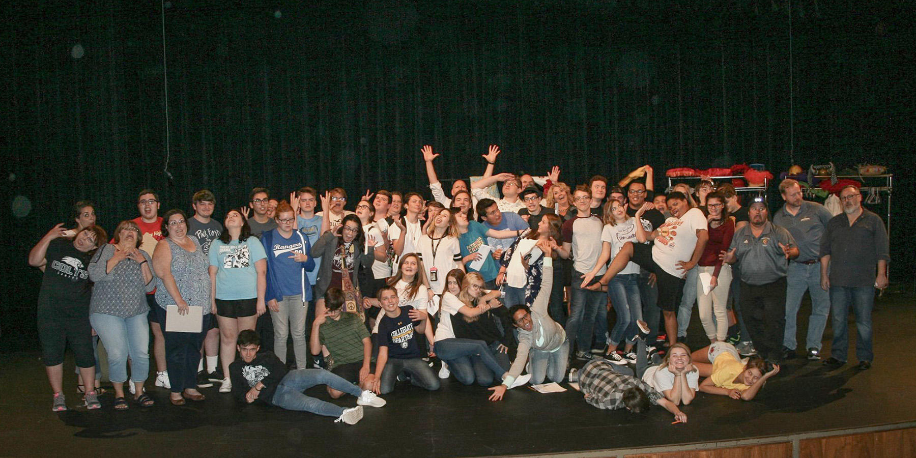 ICC Preforming Arts group photo