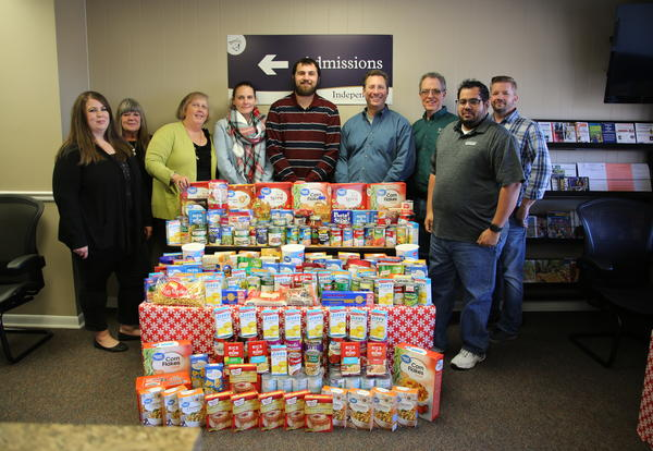 ICC to donate food drive items to Kansas Food Bank Warehouse