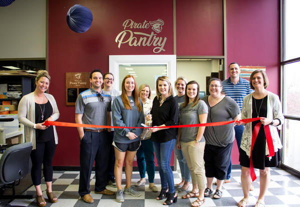 Ribbon cutting held for ICC's first food pantry