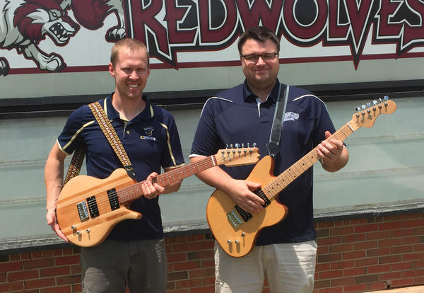 ICC's Carter, Haynes attend institute, earn certification in guitar building