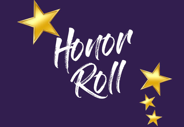 Image result for honor roll purple