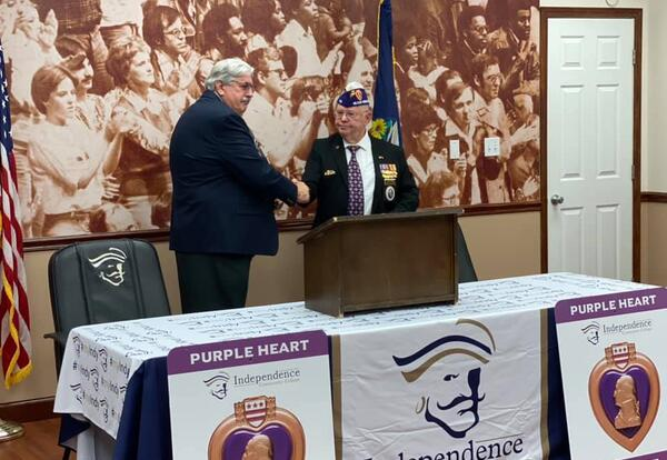 ICC named a Purple Heart College
