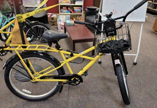 ICC Library Now Offers Bike Check-Out Program