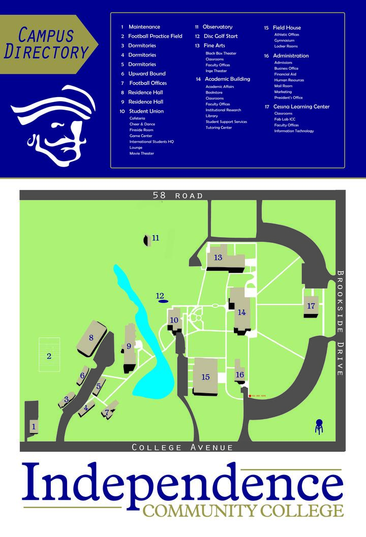 Campus Map North