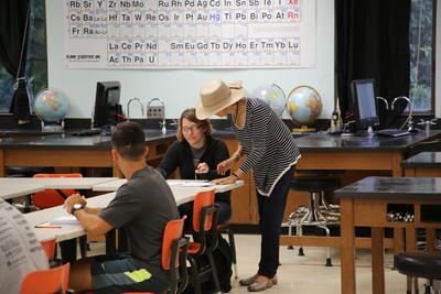 learning in the classroom, as an instructor takes time to personally assist a student