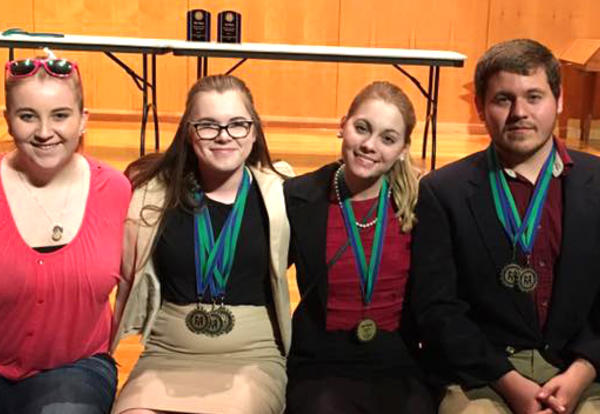 ICC's England finishes fourth in nation at speech and debate nationals