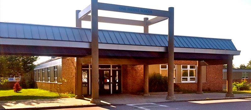 Oak School entrance