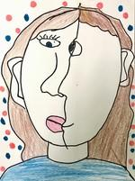Art by Ashley Thibeault - Grade 4