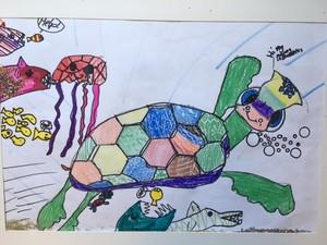 Art by Madeline O'Brien, Grade One (Paton)