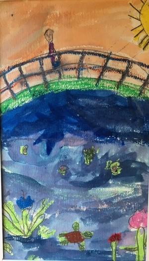 Art by Henry Bissonnette, Grade Two (Paton)