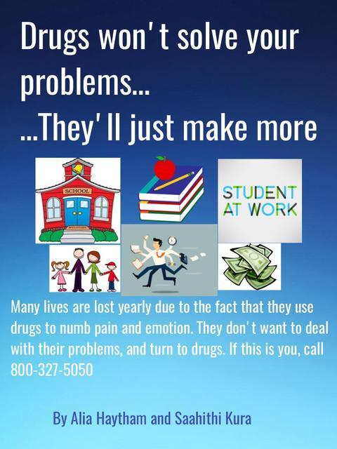 Drugs won't Solve Problems