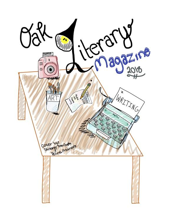 Oak Literary Magazine cover