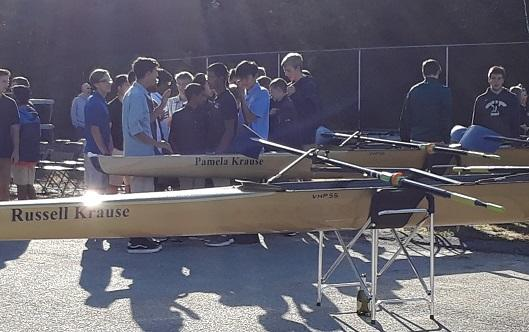 2018 Crew Boat Dedication