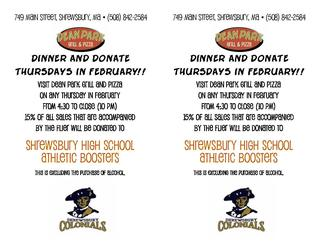 Dinner and Donate