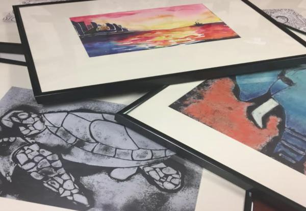 art exhibit photo