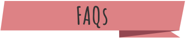 "A red banner with the text ""FAQs"""