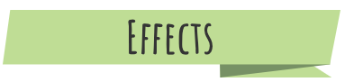 "A green banner with the text ""Effects"""