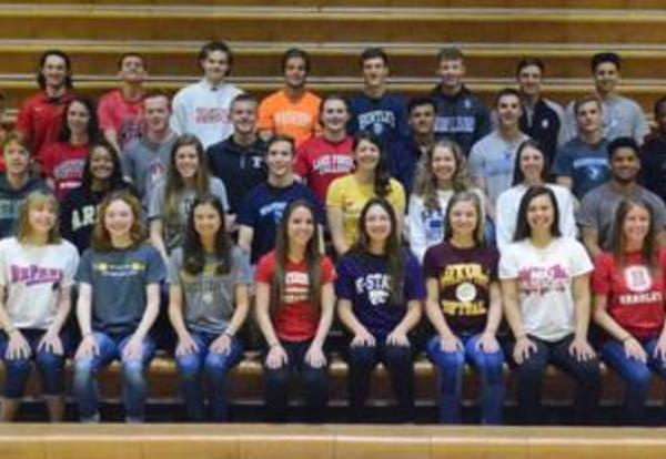 DGN Senior Athletes Continue Athletic Career in College