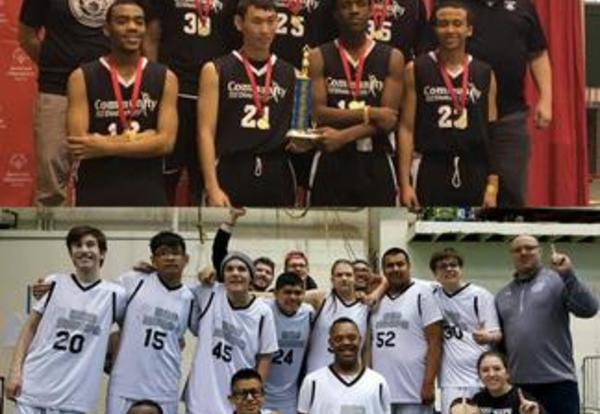 District 99 Special Olympics Basketball Teams Win State Tourney