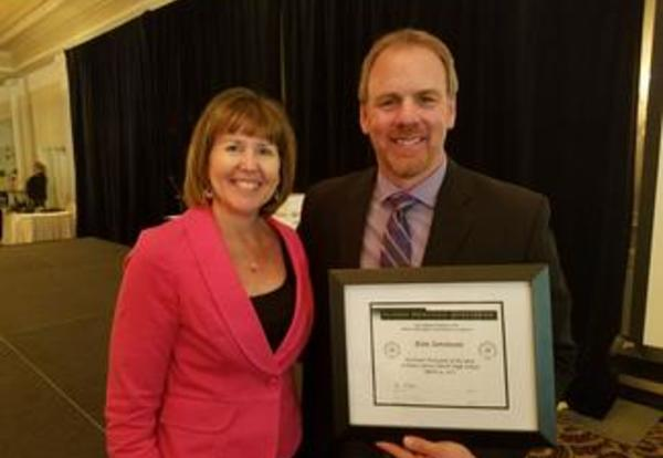 DGN's Dr. Ken Sorensen Named DuPage Assistant Principal of the Year