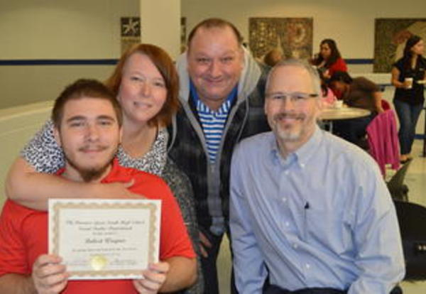 DGS Social Studies Department Holds Recognition Breakfast