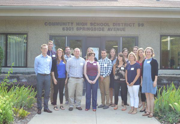 District 99 Welcomes 16 New Teachers for 2017-18 School Year