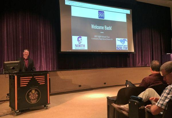 District 99 Opening Day: Welcome Back Teachers, Staff